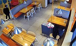 Зал пиццерии Додо-Пицца (Кириши)