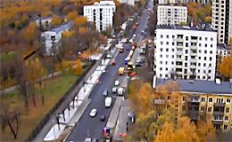 Москва. Улица Юных Ленинцев