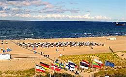 Варнемюнде. Пляж (Германия)