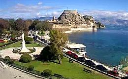 Корфу, Керкира. Памятник Иоанну Каподистрии на набережной (Греция)