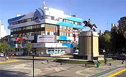 Неукен. Памятник San Martin (Аргентина)