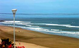 Веб камера Пуэрто Чикама. Пляж и набережная (Перу)