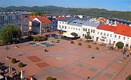 Санок. Рыночная площадь (Польша)
