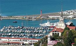 Сочи. Морской порт