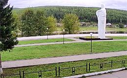 Усть-Кут. Мемориал «Родина-Мать» (Иркутская обл.)