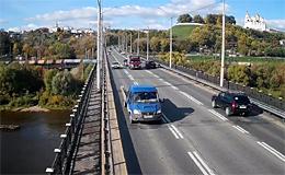 Веб камера Владимир. Мост на Сугодском шоссе через реку Клязьма