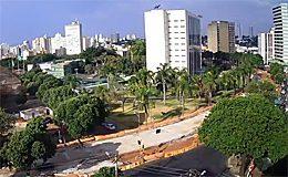 Веб камера Гояния. Гражданская площадь (Бразилия) в реальном времени