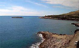 Веб камера Камерота. Побережье и пляжи (Италия) в реальном времени