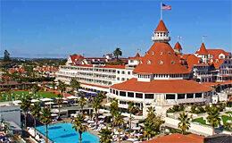 Веб камера Коронадо, Сан-Диего. Hotel del Coronado (Калифорния, США)