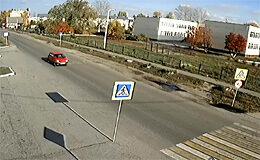 Веб камера Усмань. Улица Шмидта (Липецкая обл.) в реальном времени
